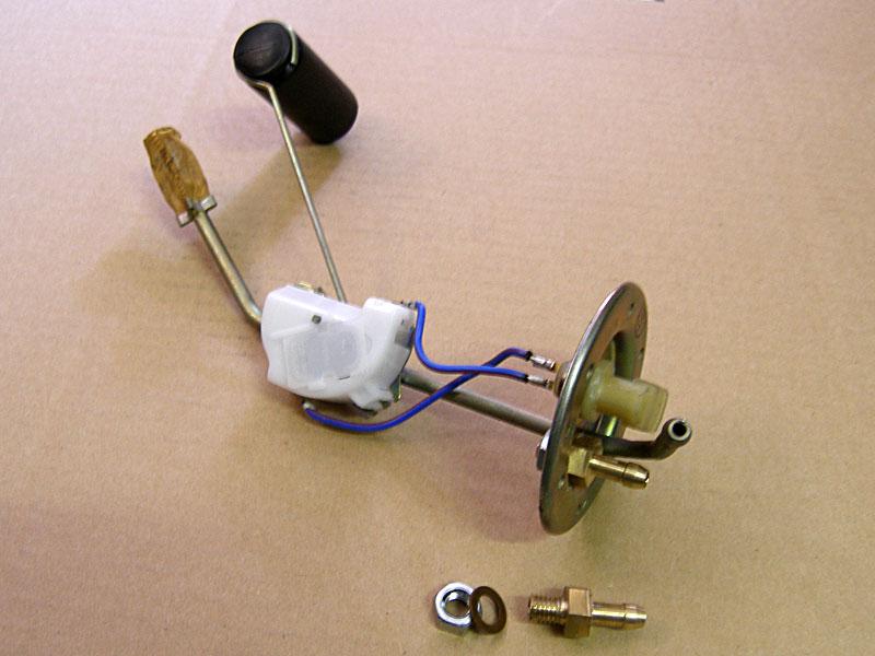 Датчик топлива для скутера своими руками